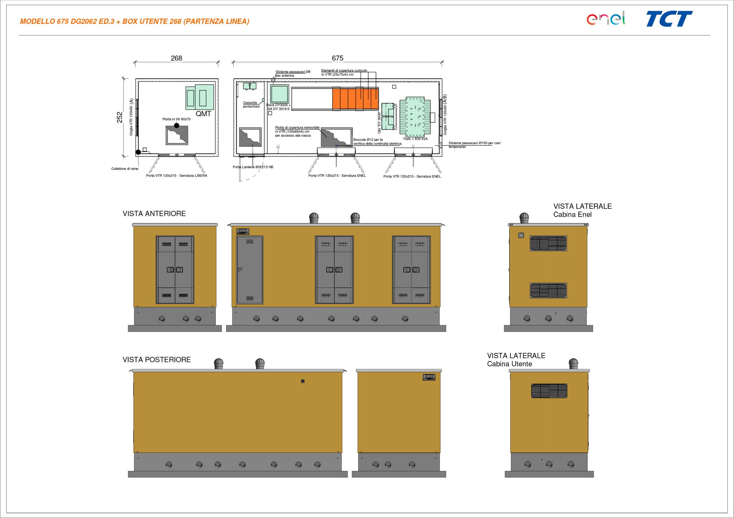 DG2092 - Ed. 3 + Box Utente 268 - Partenza Linea