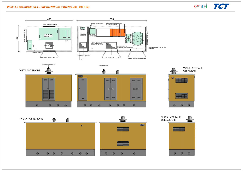 DG2092 - Ed. 3 + Box Utente 450 - Potenza 400-800 kVA
